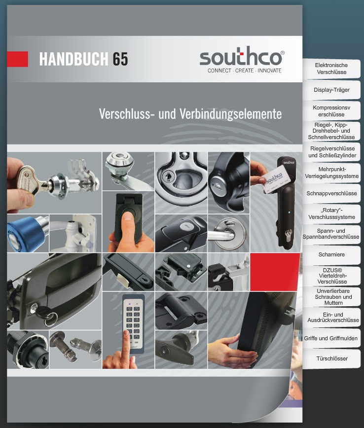 Neues Southco Produkthandbuch - ab sofort erhältlich