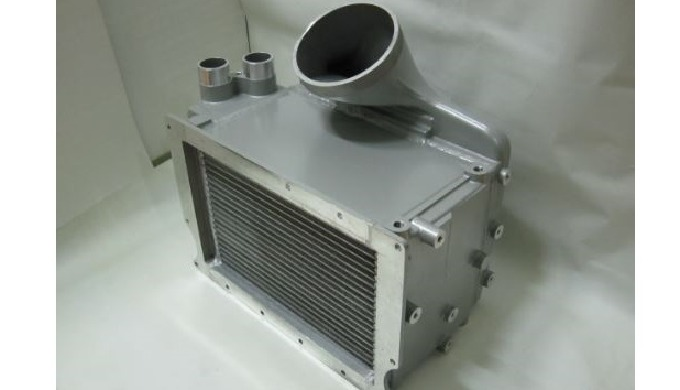CAC+Intercooler+Heat exchanger ㅣ Cooling fan module