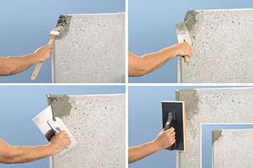 Schutz und Instandsetzung von Betonoberflächen