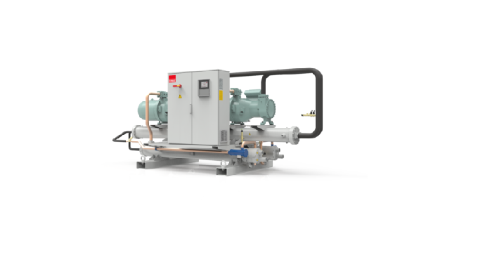 High-efficiency chiller for mission critical systems.