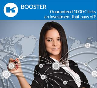 BOOSTER-CLICK 1000 CLICKS GUARANTEE