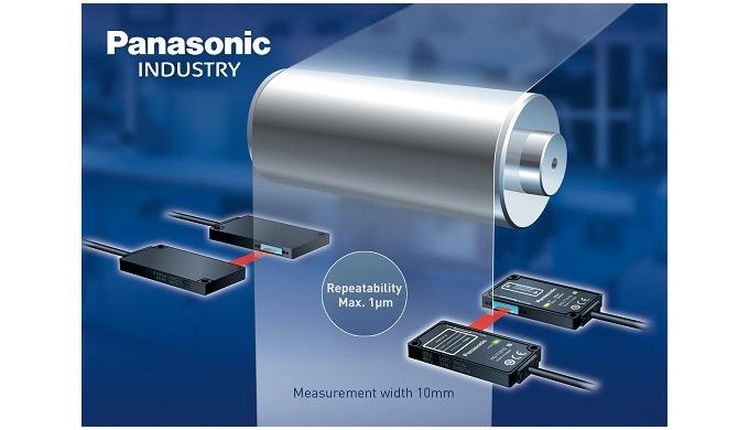 Panasonic: Nový laserový měřicí senzor s opakovatelností 1 µm - HG-T