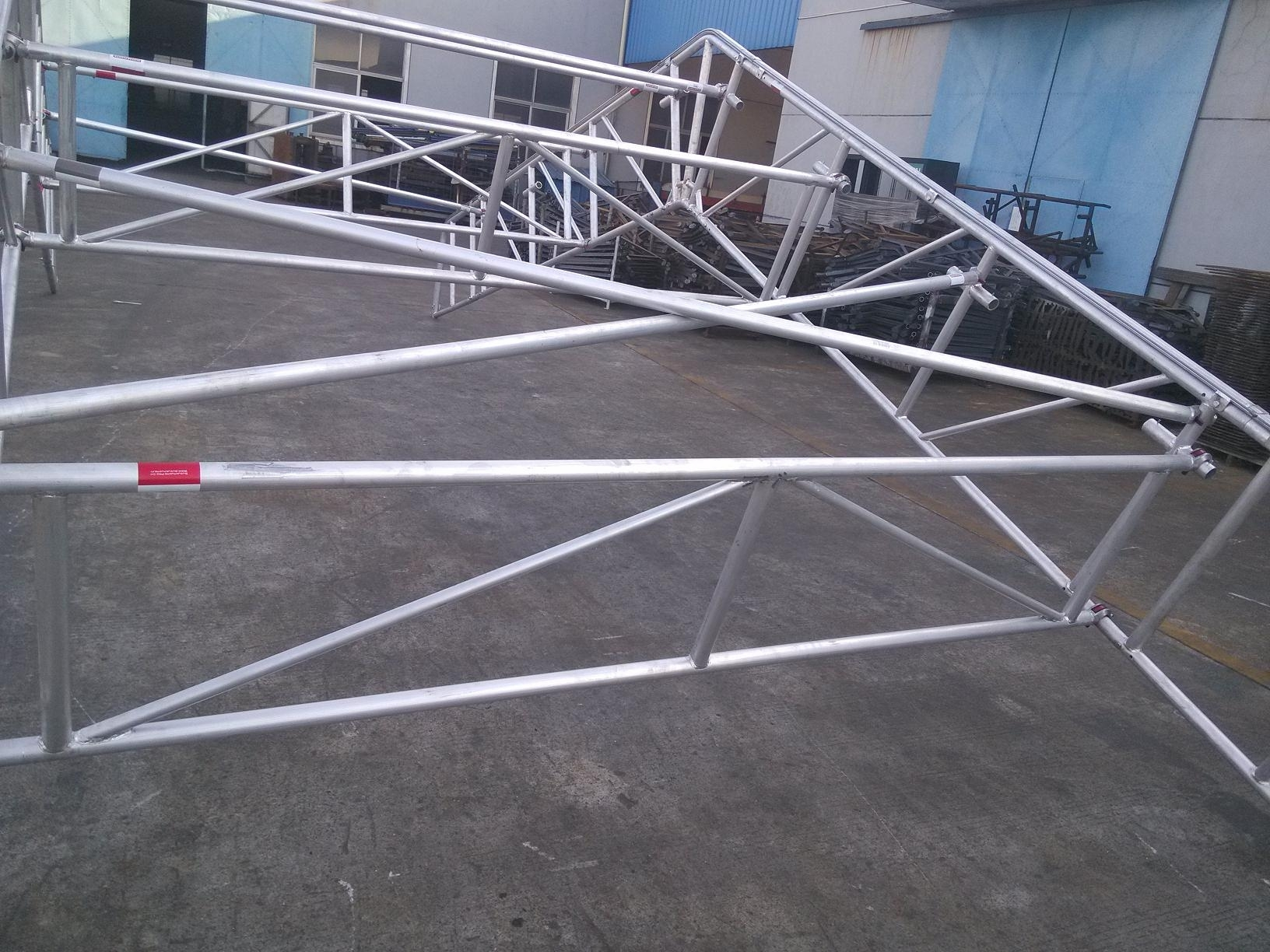 made of aluminium tube for weather protection, easy to erect and dismantle contact: Tel: +86 731 85512758 yephen@fenghos