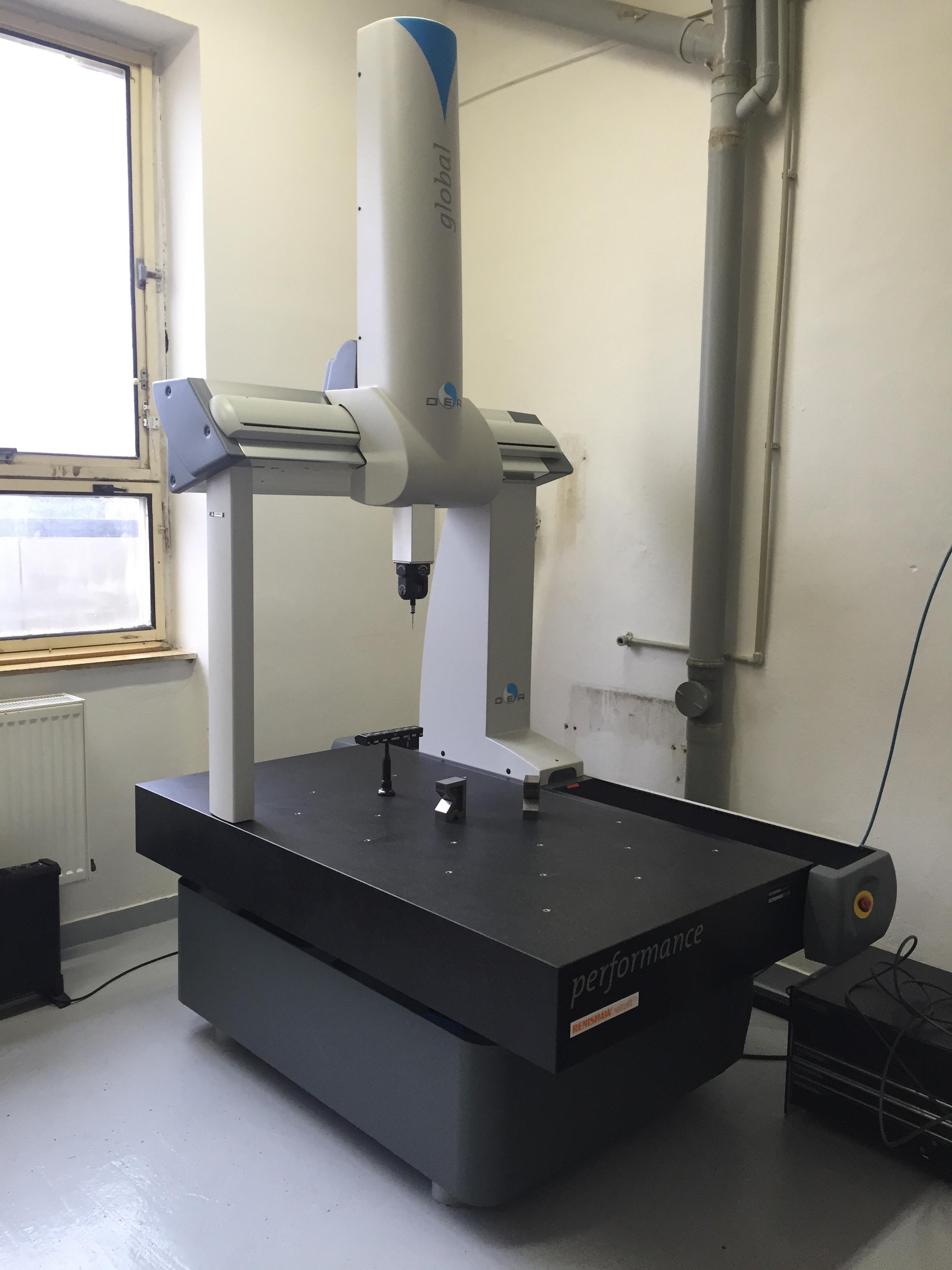 3 D souřadnicový stroj - souřadnicové 3D měření