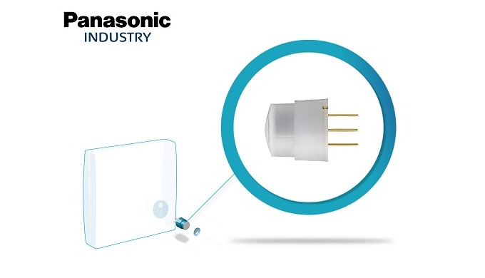 Panasonic: Nový miniaturní pyroelektrický snímač pohybu PaPIR