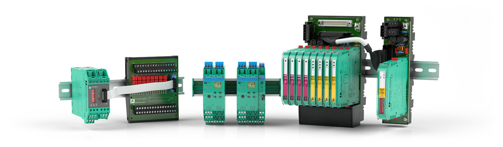 HART Interface Solutions from Pepperl+Fuchs consist of two HART Multiplexer Systems for multiple signal loops and a HART