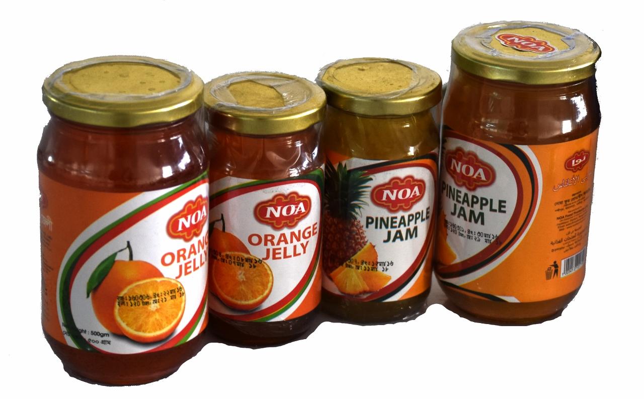 Noa Orange Jelly & Pineapple Jam