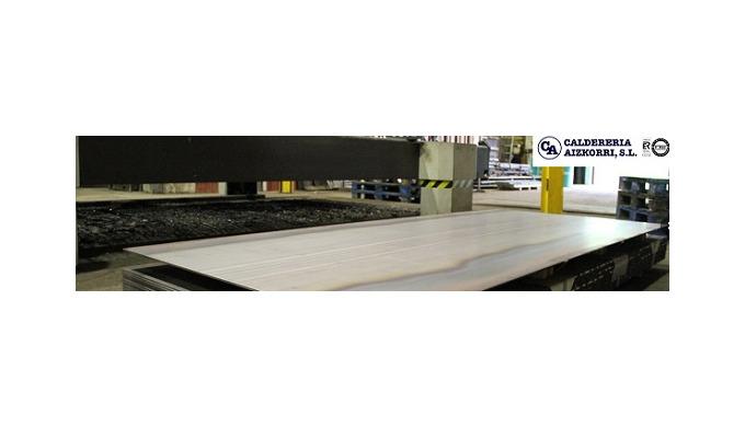 Corte de precisión con laser en medidas especiales.