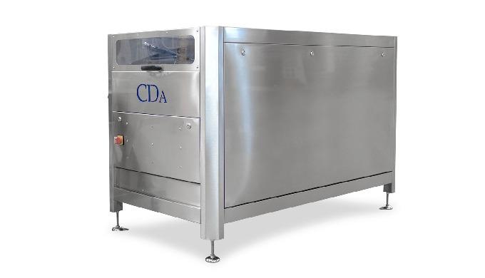 Conçu par CDA, ce bol d'alimentation automatique avec trémie est adapté aux flacons allant de 10 ml à 120 ml. Il permet