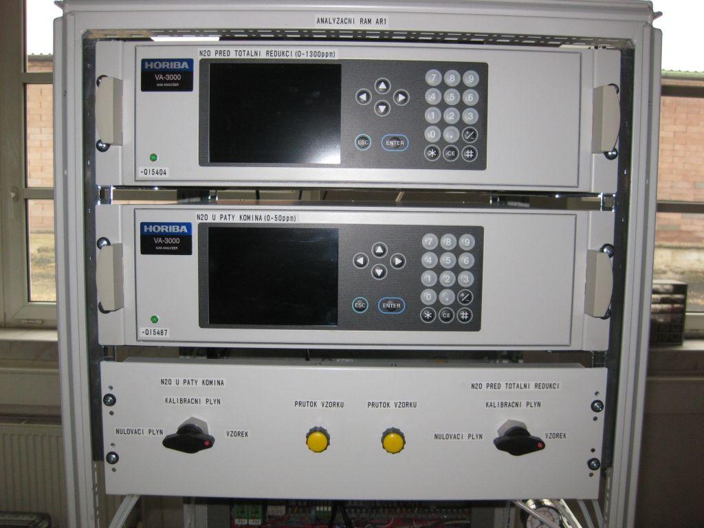 Analyzátory plynů a kapalin