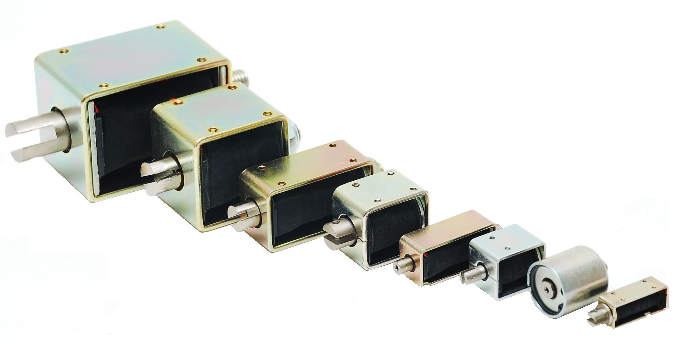 HE & BS Benson AC & DC Linear - Open Frame Solenoids