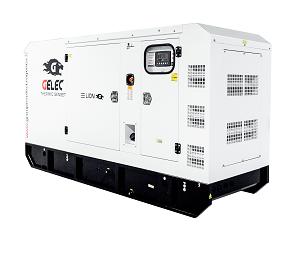 GROUPE ÉLECTROGÈNE GELEC DIESEL 275 kVA : Etudié pour soutenir de très fortes demandes, ce groupe électrogène assure l'a