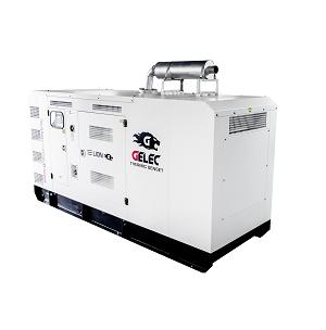 Groupe électrogène diesel GELEC de 495 kVA : Ce groupe électrogène industriel est équipé d'un disjoncteur magnéto-therm