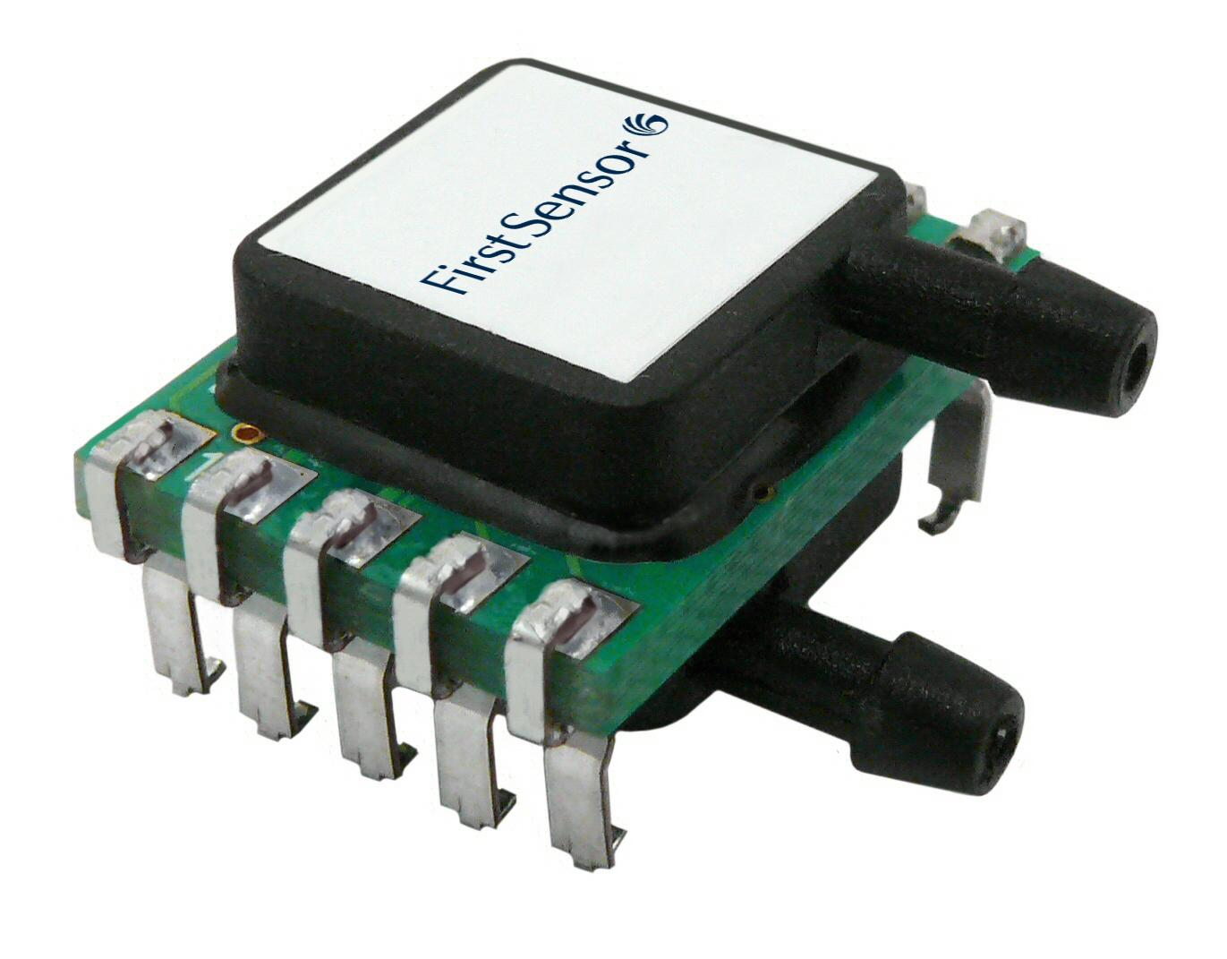Digitale Niedrigstdrucksensoren ab 25 Pa mit sehr hoher Offsetstabilität und Genauigkeit