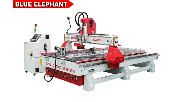 Advantages 1. Like 4*8 ATC CNC Router, the machine was designed with rotary device. The diameter and length of rotary de