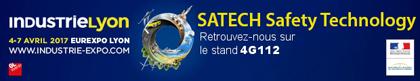 Satech expose au Salon Industrie Lyon 2017