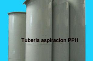 TUBERIAS DE ASPIRACIÓN