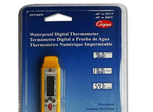 Food Temperature Probe in Waterproof Pen Style