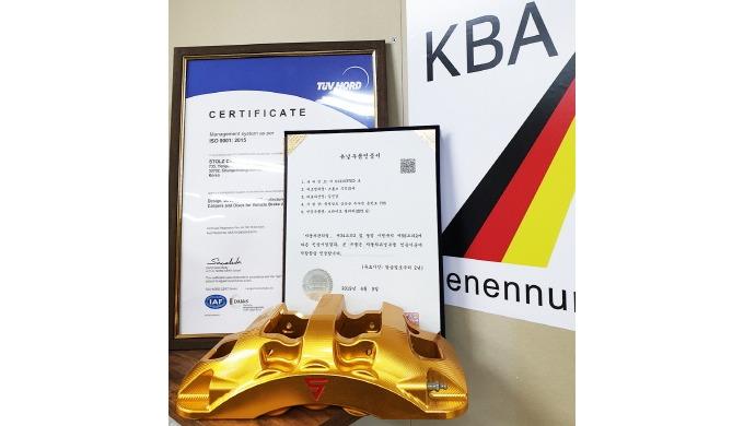 Stolz SFZ6 Certificate