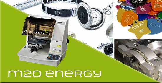 Gravograph lanza la máquina de grabado M20 Energy