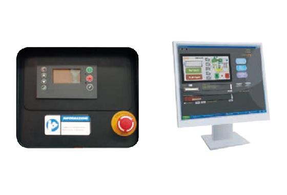 El control del compresor está asegurado por una tarjeta electrónica multifuncional fácil de leer y usar. Las funciones y