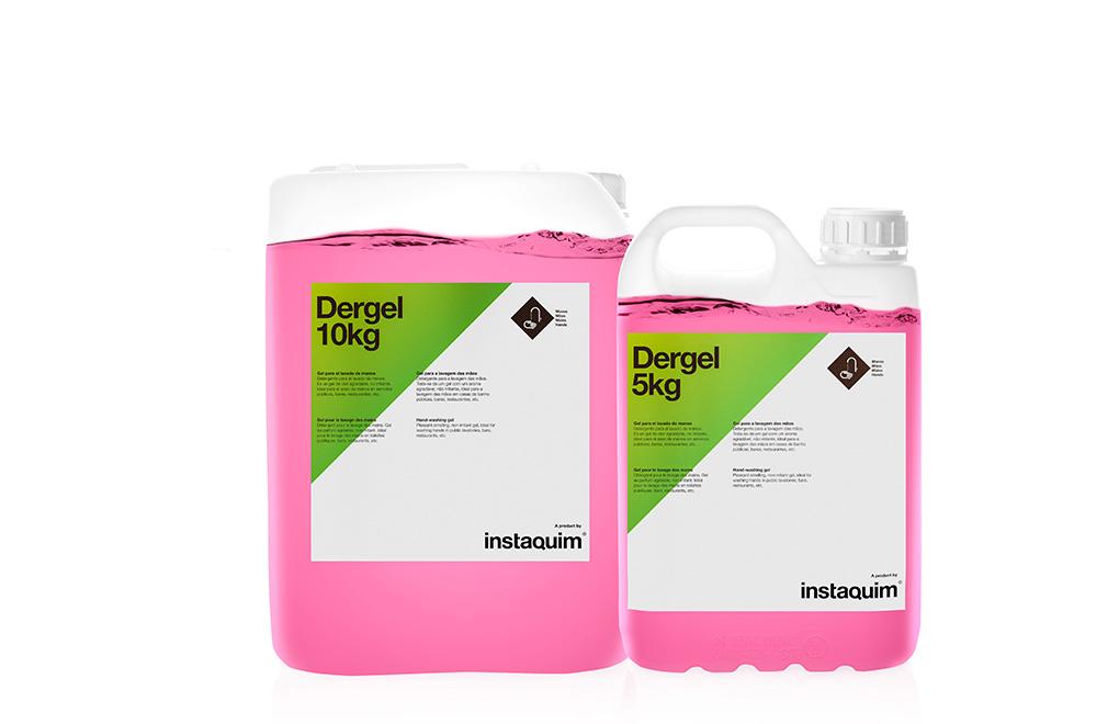 Dergel, gel para el lavado de manos.