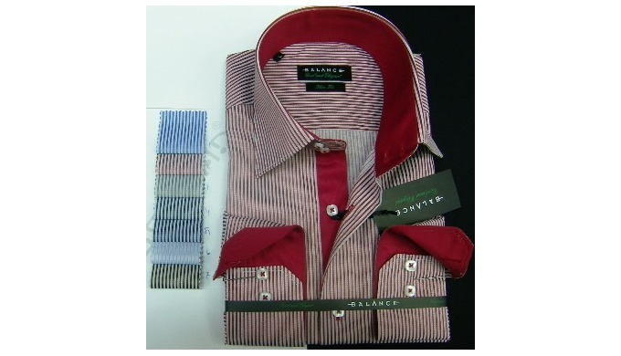 We produce & wholesale men's shirts in Istanbubl Turkey since 1963. We can produce for your label....