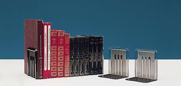 Assurent le maintien vertical de vos livres, magazines, etc.. Utilisation dans des bureaux, bibliothèques ou magasins po