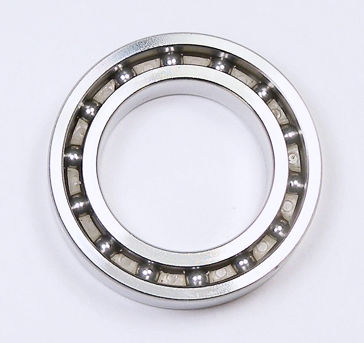 "The 316 ""marine"" grade stainless steel ball bearings in the table below can be supplied with PE (polyethylene) or PEEK c"