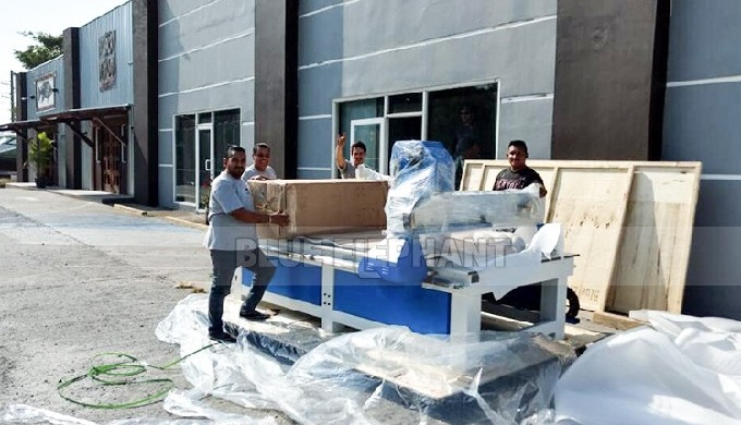 Blue Elephant 1325 CNC Machine Was Shipped to Our Panama Customer