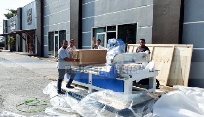 La máquina CNC Blue Elephant 1325 fue enviada a nuestro cliente de Panamá