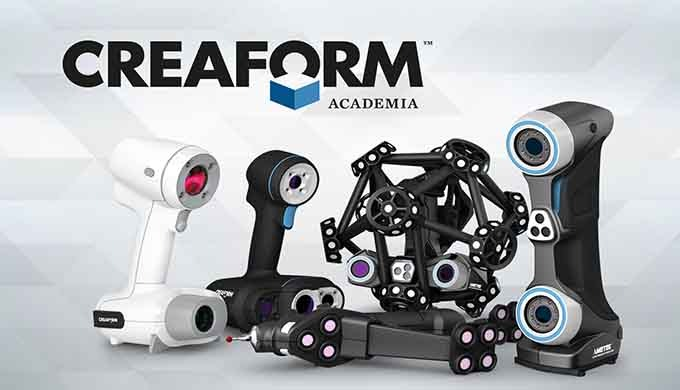 Creaform ACADEMIA - EDUCATIONAL SOLUTION SUITE
