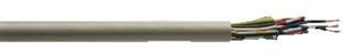 Denna halogenfria oskärmade signal- och styrledning är flexibel, har liten ytterdiameter och böjradie. Den används främs