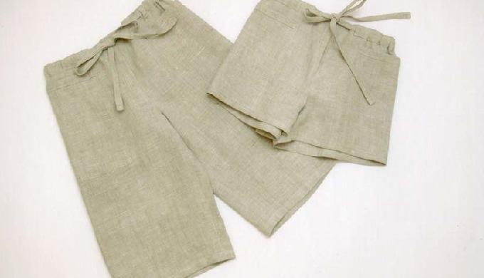 Pētot etnogrāfiskos materiālus, izveidojusies ideja veidot lina apģērbu bērniem valkāšanai ikdienā.Piedāvājumā ir lina