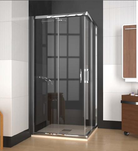 Nous vous proposons un choix varié de parois de douche DOCCIA, au design épuré, s'adaptant à tout type de receveur de