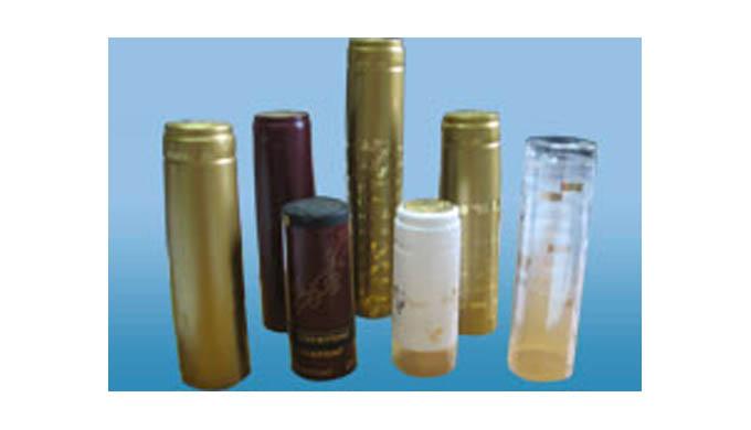 Термоусадочные капсулы для винно-водочной продукции