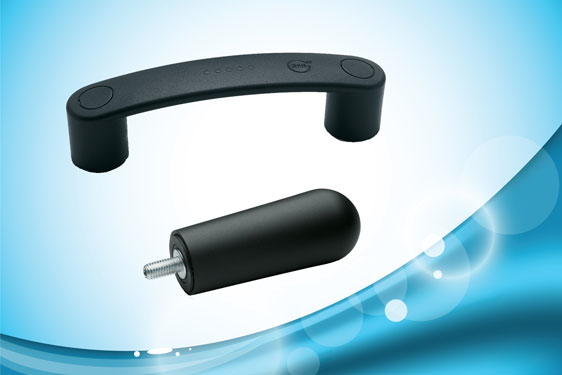 SAN handles from Elesa provide antimicrobial protection