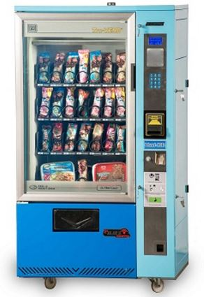 VEND-ICE Midi provides a freezing temperature system combined with the latest vending technology packed in a compact siz