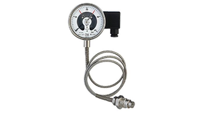Messbereich: 0 ... 100 ... 0 ... 600 bar Anschluss: G &frac34&#x3b; AG, Edelstahl Membran: 18 mm, Edelstahl Gehäusematerial: