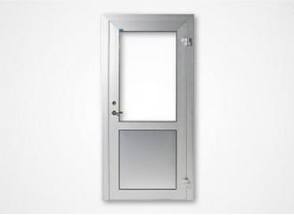 Aluminiumdörrar OD45 utan bruten köldbrygga