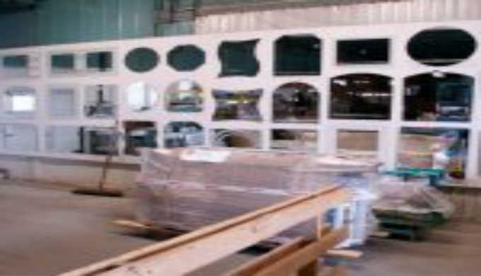 Opracování plochého skla