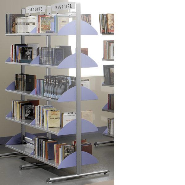 Pour composer votre bibliothèque : Sélectionnez une hauteur de structure / Déterminez le nombre d'éléments départs et s