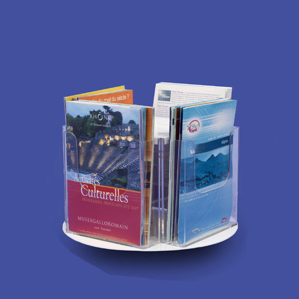 TOURNIQUETS BROCHURES COMPTOIR 4 CASES