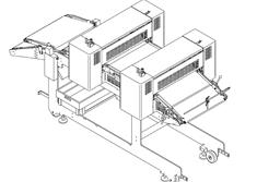 El módulo PIZZAFORM da la posibilidad de fabricar base de masa con espesores de hasta 1 mm según las necesidades de nues