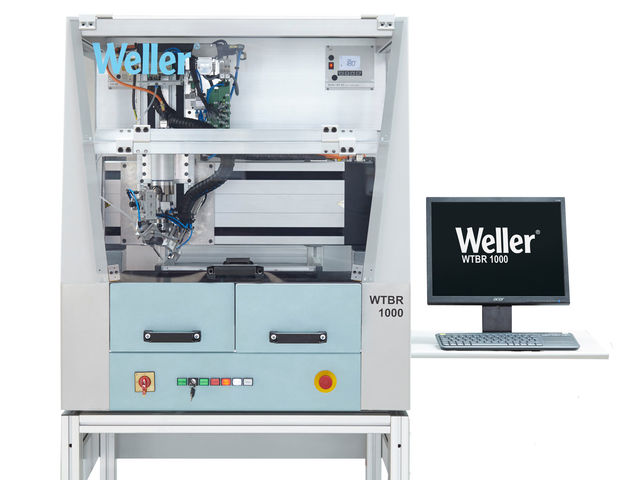 Cepelec vous propose le nouveau robot de brasage automatique WTBR de la marque Weller, les experts du brasage. Haute pré