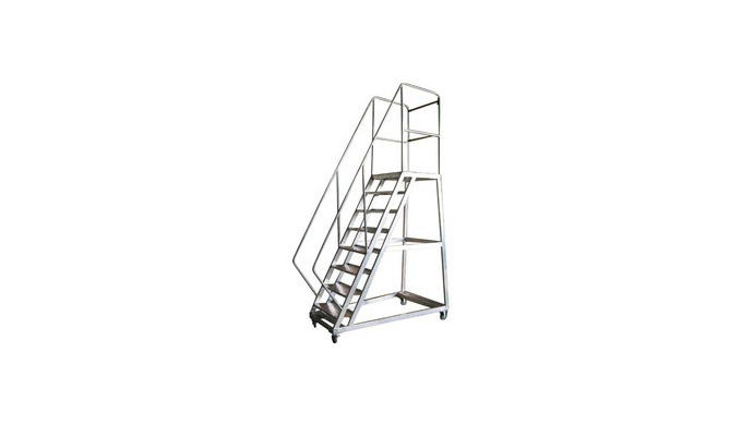 Ladder can be fabricated as per client requirement