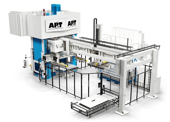 AP&T first in the world to produce a production line for hot forming of aluminium with HFQ®