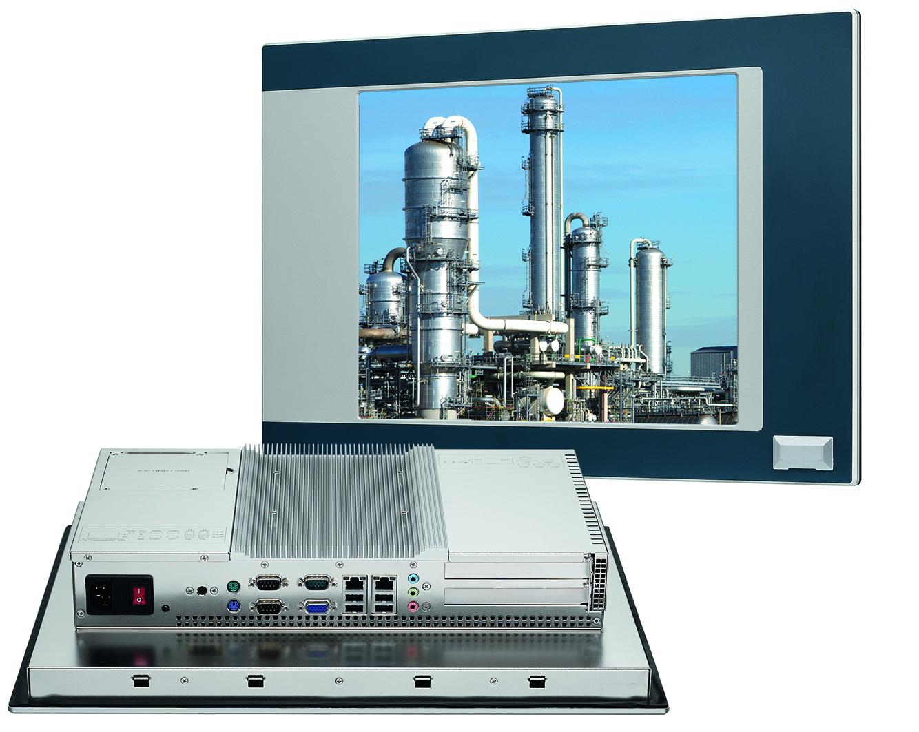 Industrielle Panel-PCs im ansprechenden Design