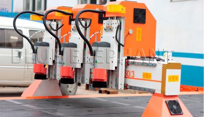 ELECNC-1660 Routeur CNC grand format multi-têtes