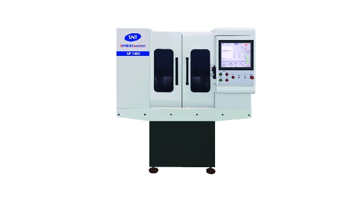 The CNC high speed machine equipped with SAMWOO's strong and precise spindles considered practicality instead of brillia